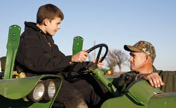 Obama Ban on Youth Farm Chores Part of Larger Power Grab children%2Bon%2Bfarm%2Btractor