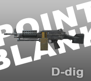 Senjata MK.46 Ext. Point Blank - PB
