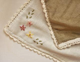 kocyk dziecięcy na drutach