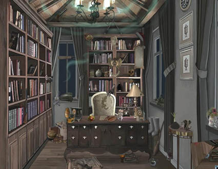 Haunted House: Quest for the Magic Book