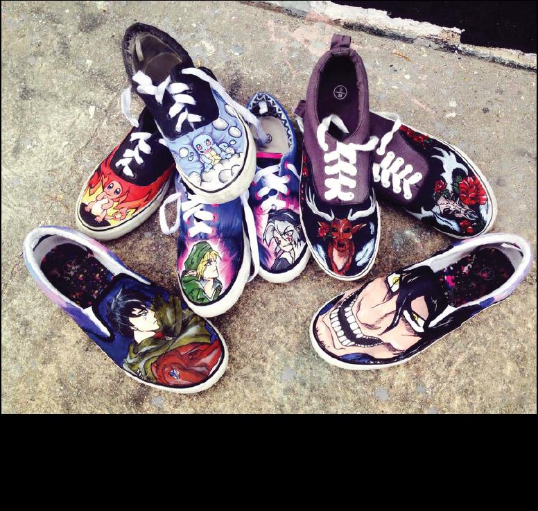 G Custom Sneakers