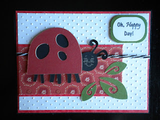 Cricut, Walk In My Garden, LadyBug, Happy Day, Swiss Dots