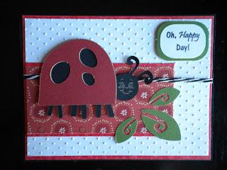 Cricut, Walk In My Garden, LadyBug, Happy Day, Swiss Dots