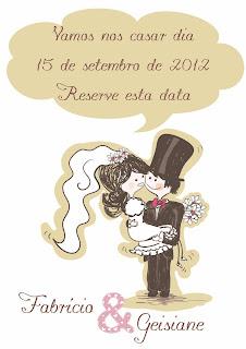 convite para casamento grátis save the date