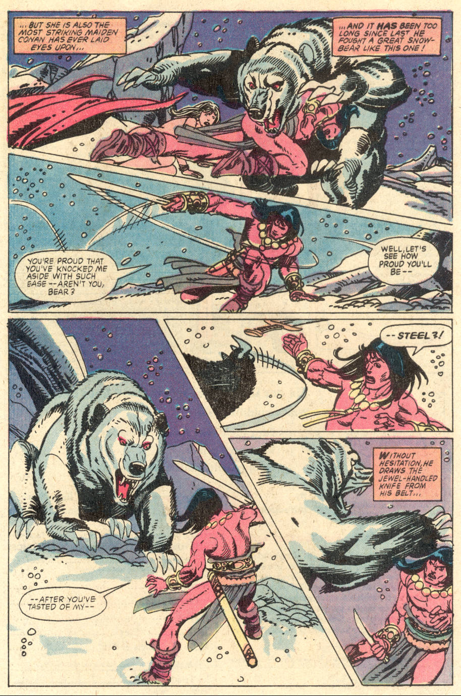 Conan the Barbarian (1970) Issue #127 #139 - English 4
