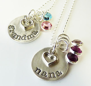 From the perch of the pretty peacock grandma and nana for Grandmother jewelry you can add to