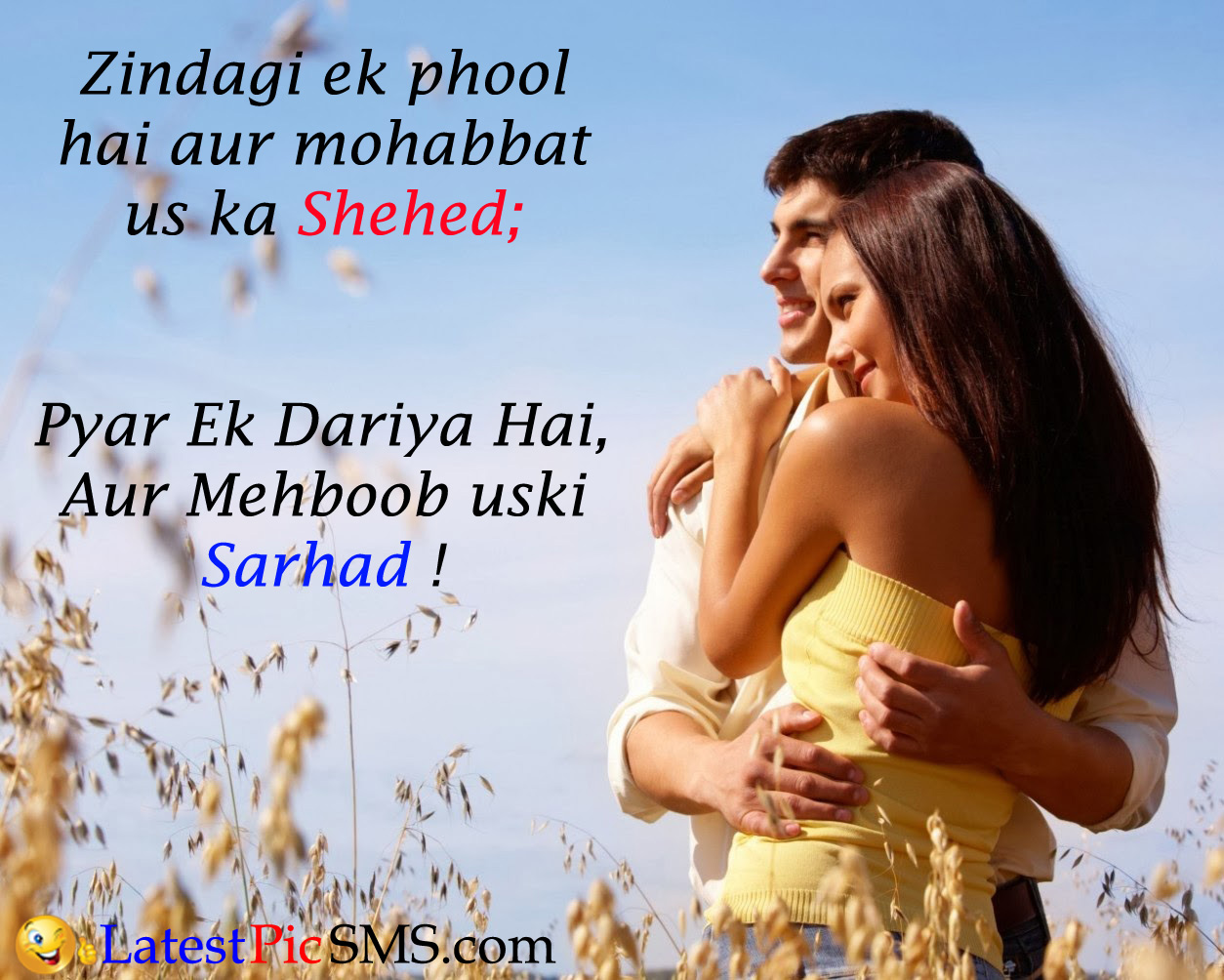 cute love shayari picture quotes