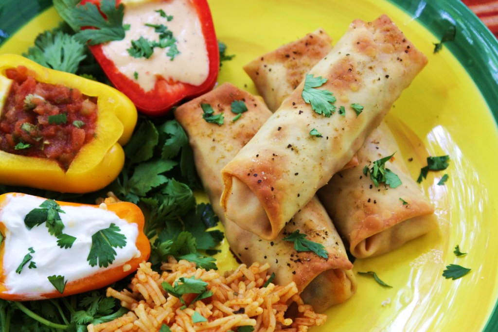 watch me make them on V ideo Recipe for Baked Chicken Taquitos!