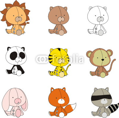 Amper Bae Baby Animal Cartoon