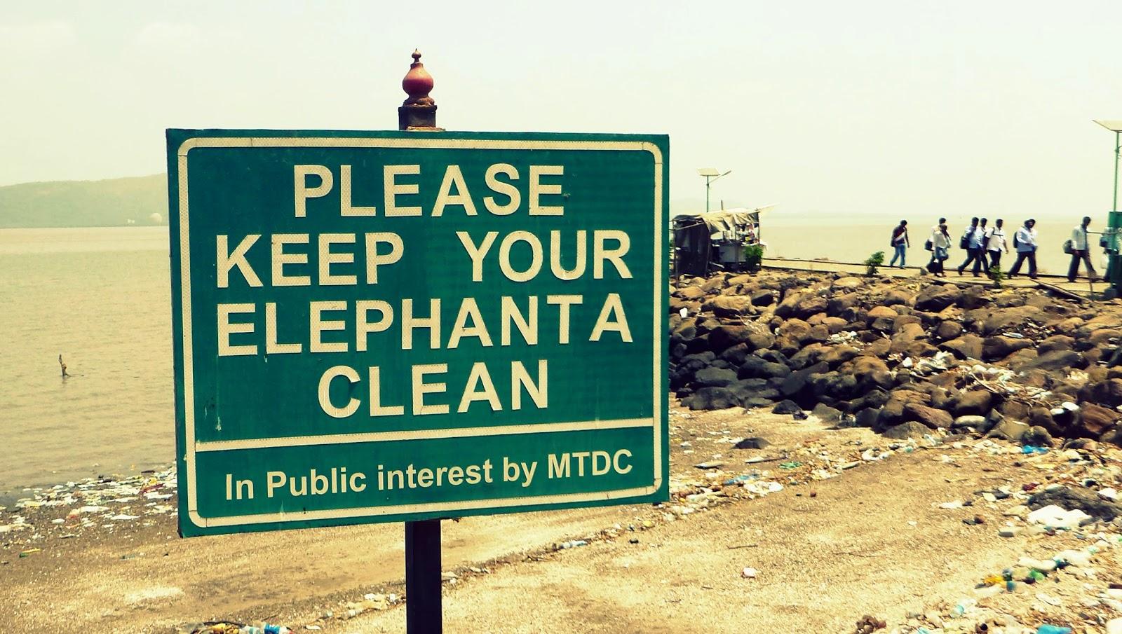 Elephanta sign