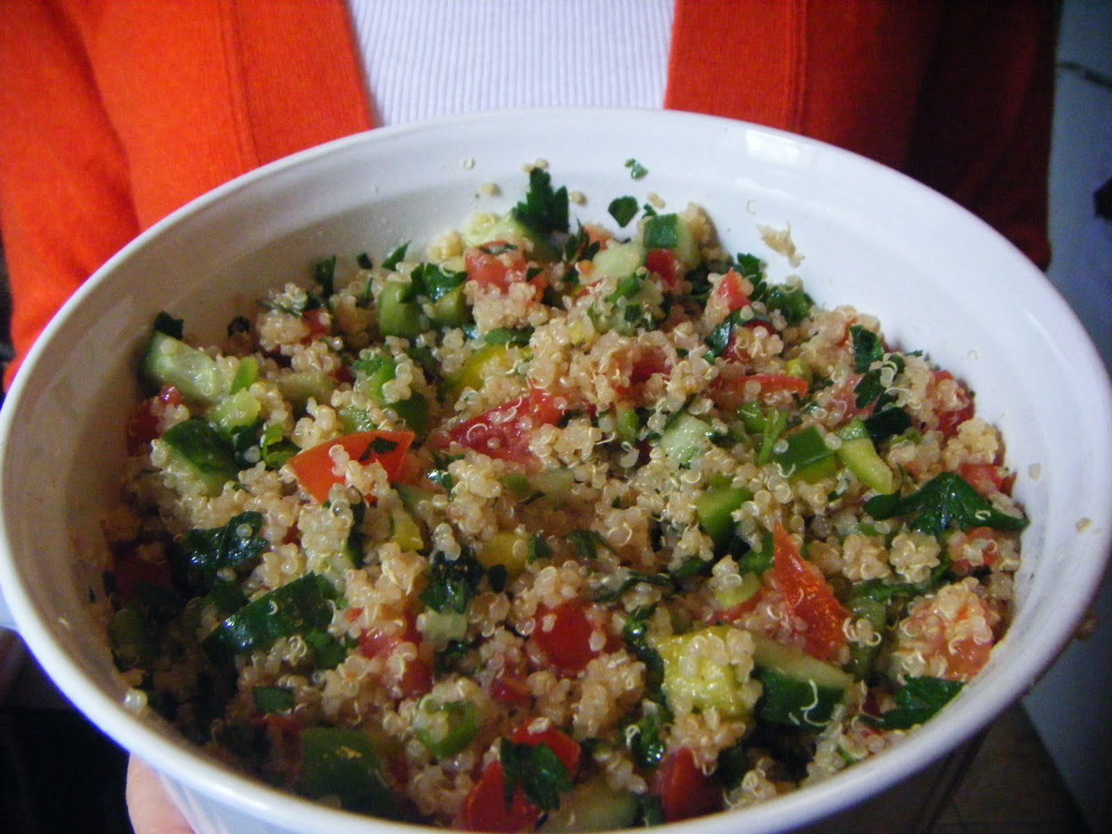 domistyle: Quinoa Tabbouleh Salad