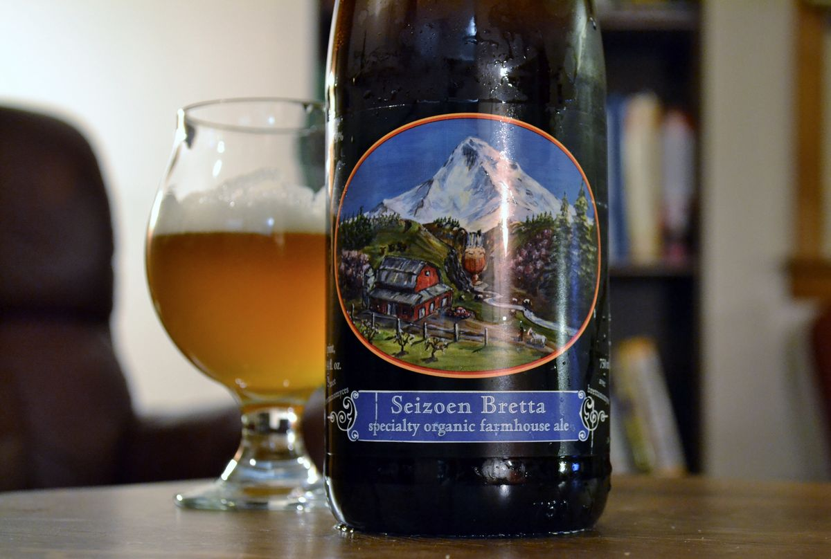 Logsdon Farmhouse Ales Seizoen Bretta Review Bear Flavored