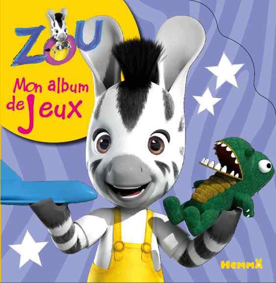 Zou activity books