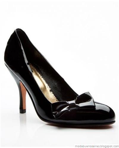 Zapatos de fiesta 2012 Las Oreiro otoño invierno 2012