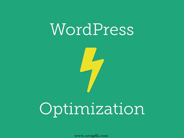 WordPress Web Optimization
