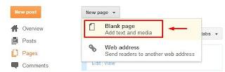 Membuat Sitemap di blogger/blogspot