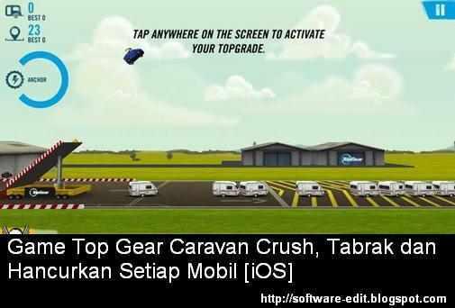 Game Top Gear: Caravan Crush, Tabrak dan Hancurkan Setiap Mobil [iOS]