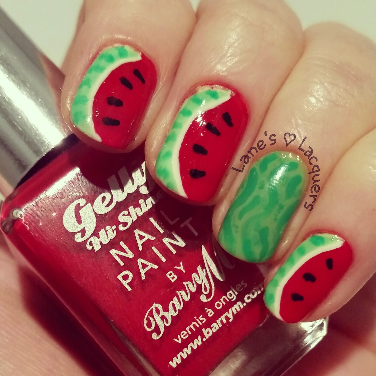 barry-m-blood-orange-watermelon-freehand-nail-art (2)