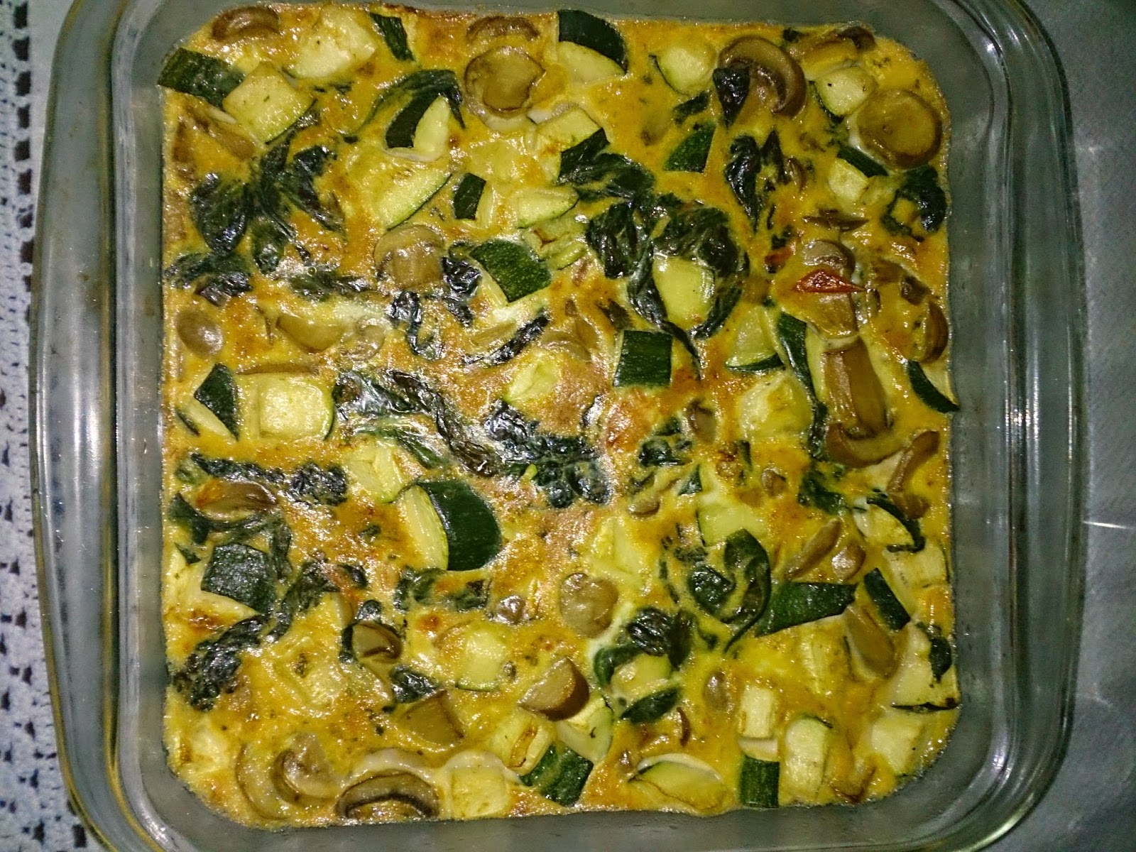 Las recetas sanas de carmen blasco tortilla de verduras - Verduras rellenas al horno ...