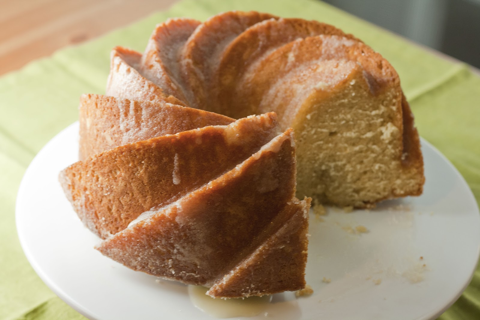 Kentucky Bourbon Butter Cake Hummingbird High A
