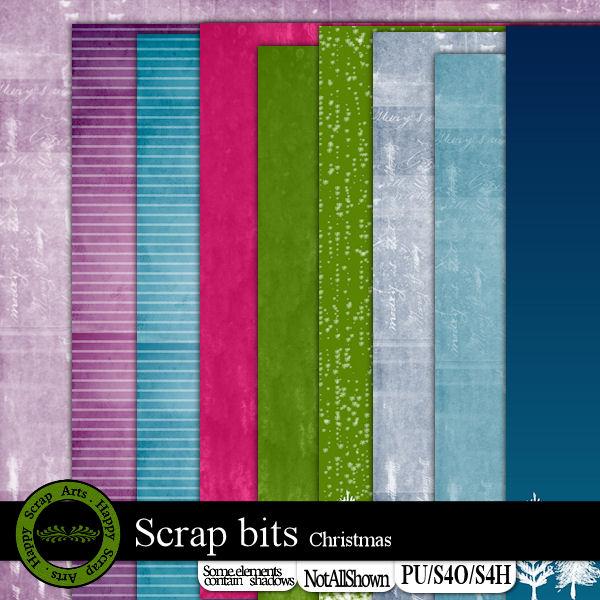 HSA Scrap bits papier map 1