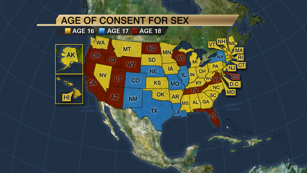 Legal Age To Consent To Sex 58