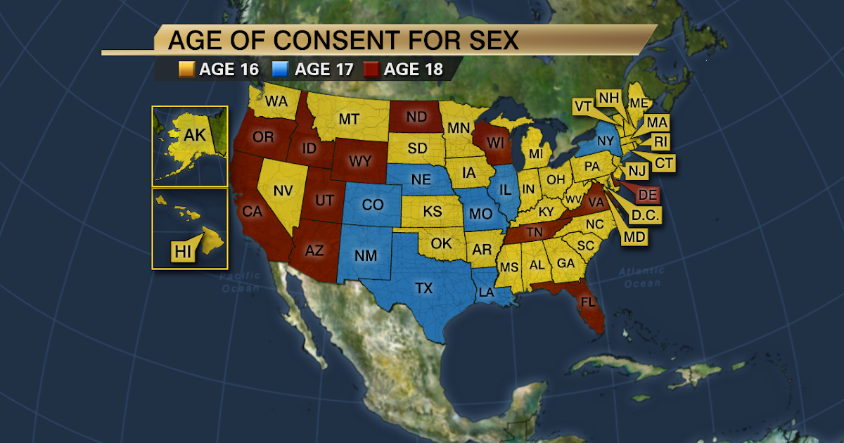 Adult dating 16 year old age of consent america