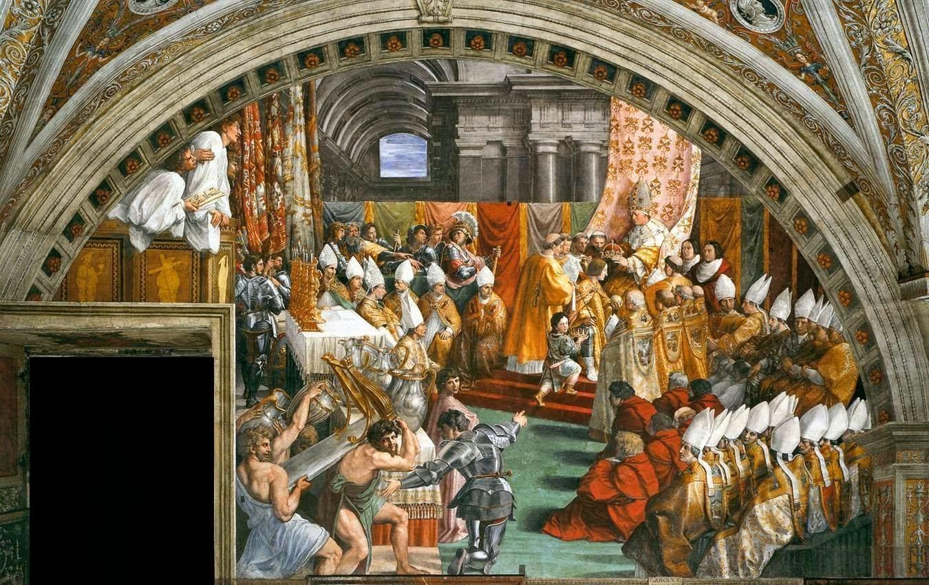Sauvage27 stanza dell 39 incendio palazzi vaticani in roma for Decora la stanza girlsgogames