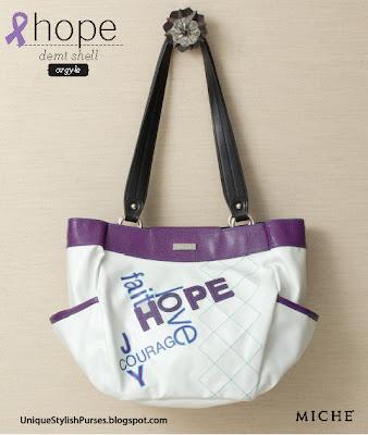 Miche Hope (argyle) Shell for Demi Bag