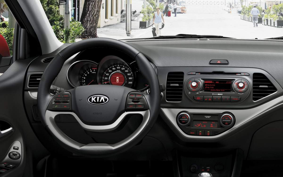 novo kia picanto 2016 chega ao brasil pre o r 46 9 mil car blog br. Black Bedroom Furniture Sets. Home Design Ideas