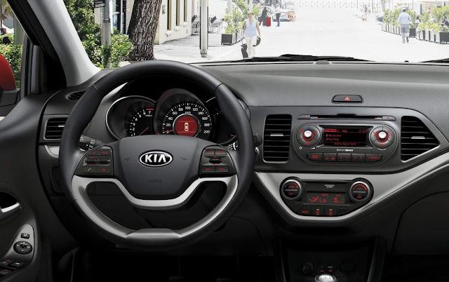 Kia Picanto 2016 - interior