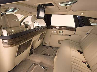 Rolls-Royce Phantom Interior