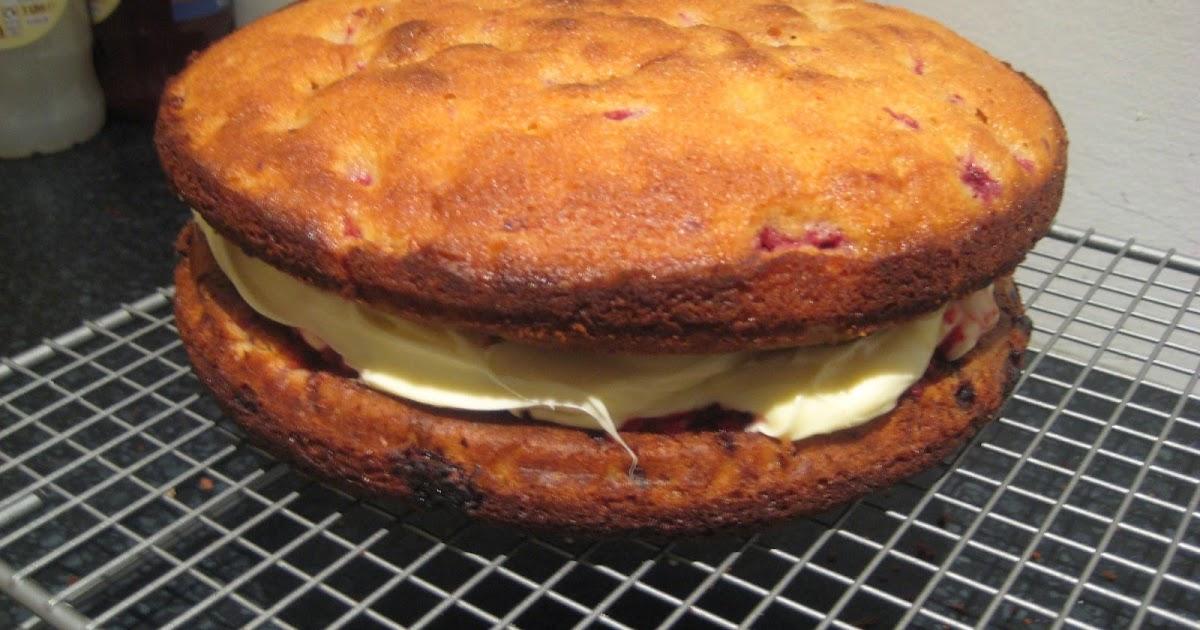 White Chocolate And Raspberry Cake Great British Bake Off