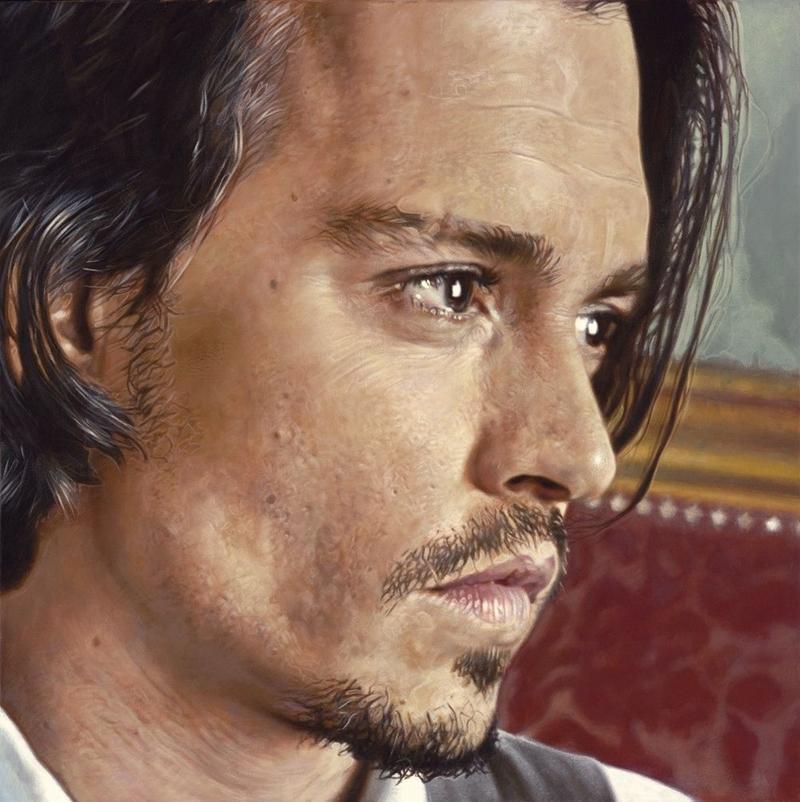 Johnny Depp - New Pop Realism - Sebastian Krüger 1963