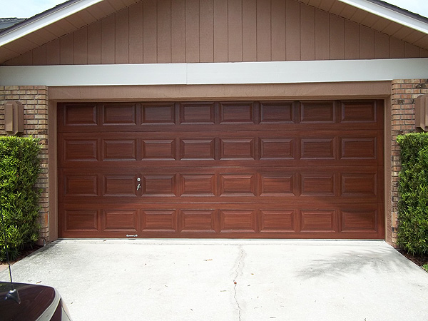 Faux wood painting everything i create paint garage for Paint garage door to look like wood