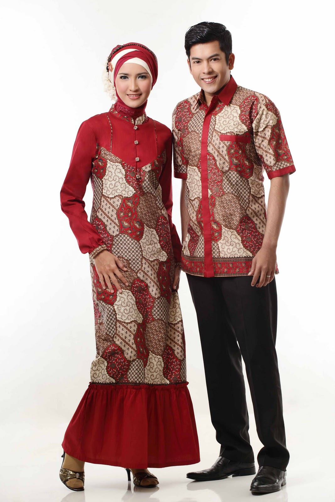 Trend model baju batik lebaran terbaru 2014 terbaru 2015 Model baju gamis terbaru lebaran 2014