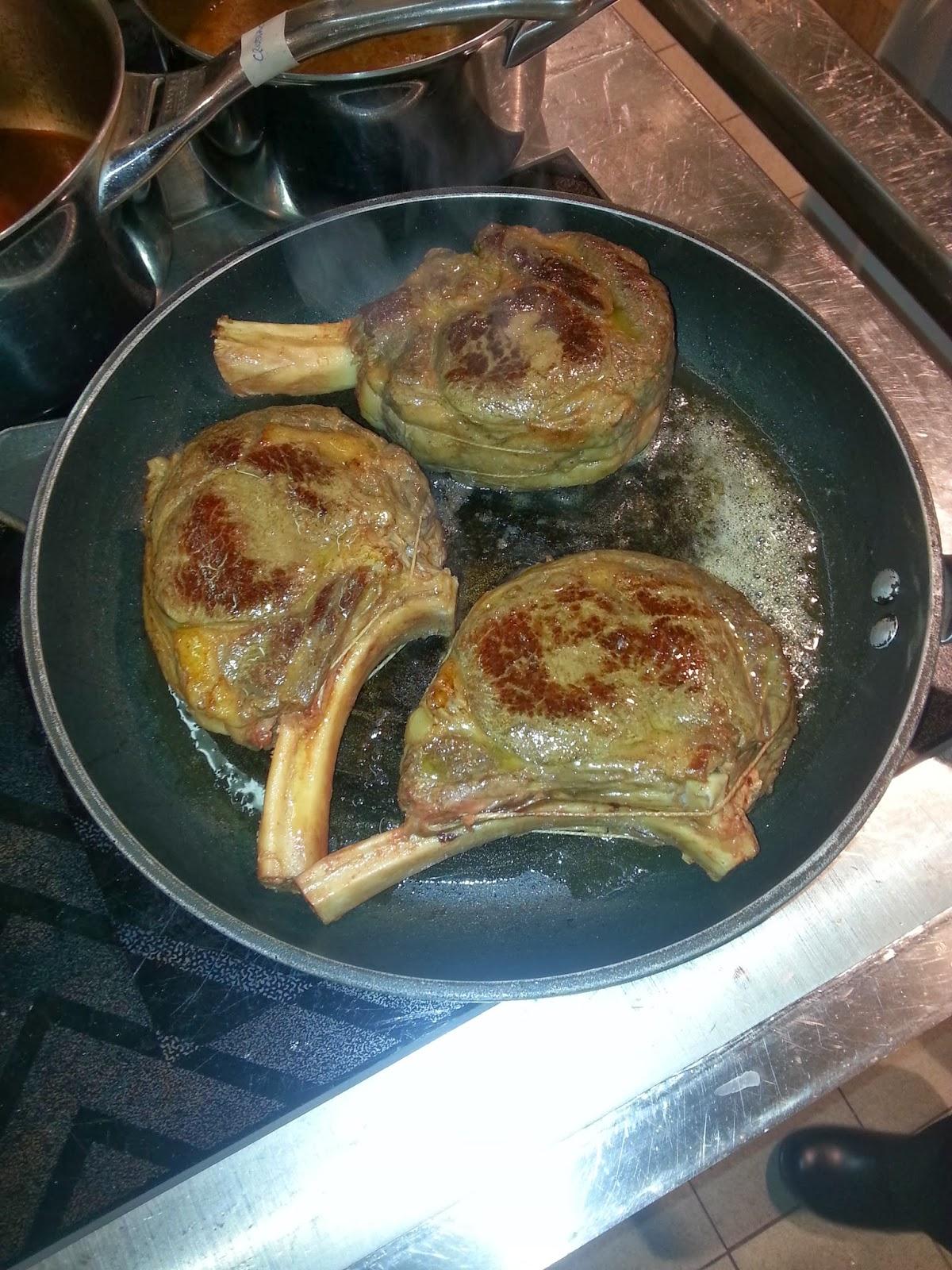 Alchimie culinaire sauvage et naturel cotes de boeuf for Thermoplongeur cuisine