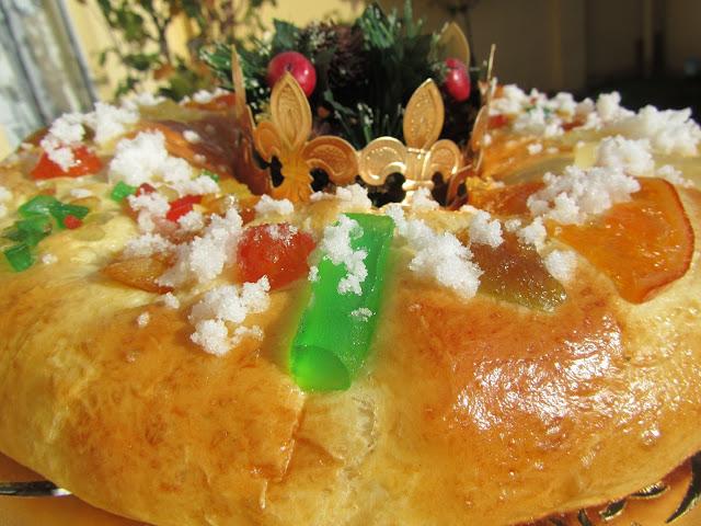 Roscón de Reyes con masa madre Ana Sevilla