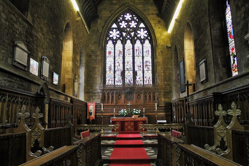 Martin Brookes Oakham Rutland England: St Mary's Church ...