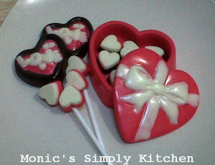 cara membuat coklat valentine