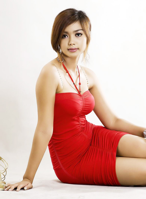Myanmar Celebrity Sexy Model Nwe Nwe Tun-06