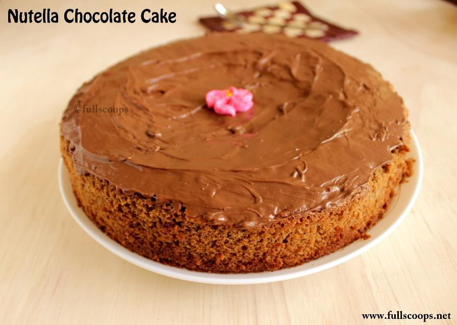 Nutella Cake Recipe Jamie Oliver