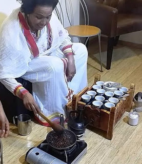 Kaffa Coffee Traditional Ethiopian Coffee Ceremony