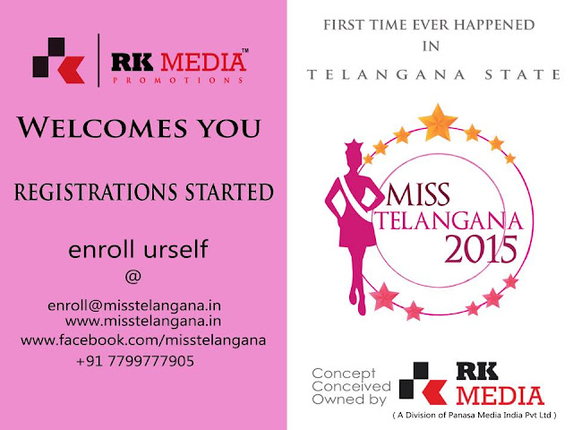Miss Telangana Registrations started