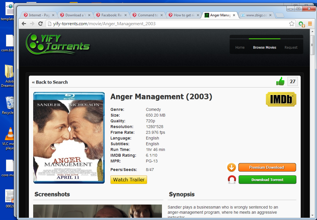 how to download torrent movies with idm