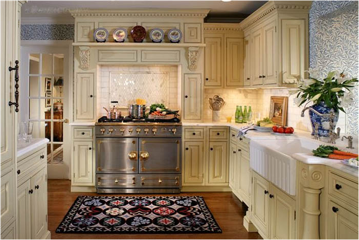 Traditional Cream Kitchen Designs Quicuacom