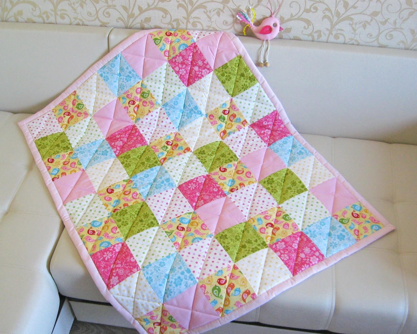 Сшить детское одеяло из синтепона своими руками
