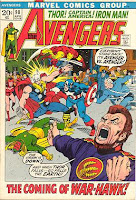 Avengers #98 comic cover