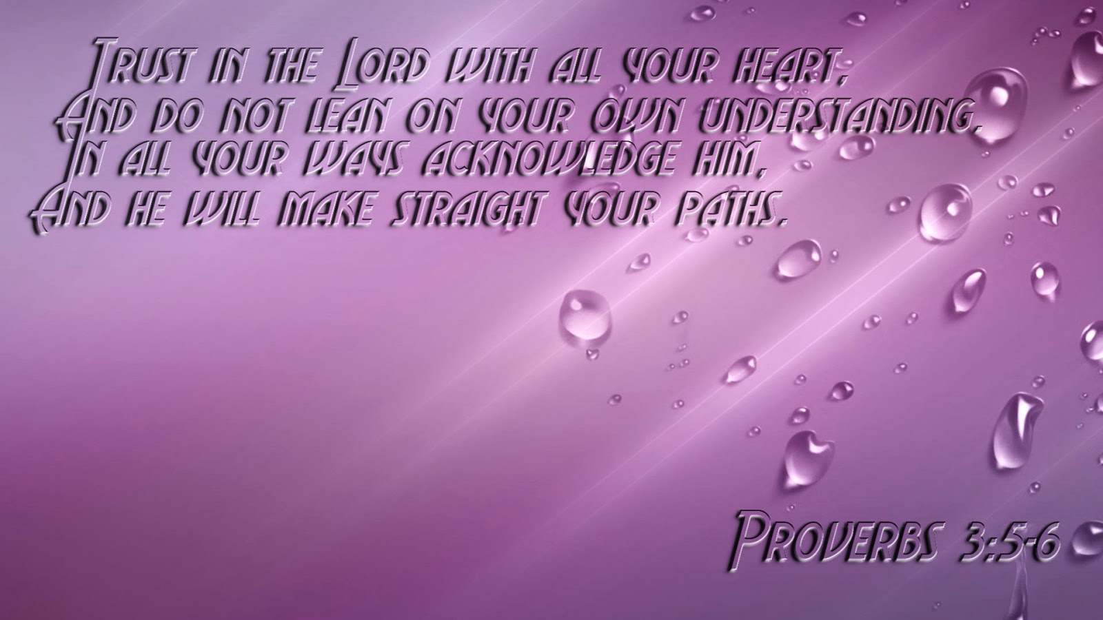 scripture wallpaper proverbs 3 5 6 bible verse wallpaper