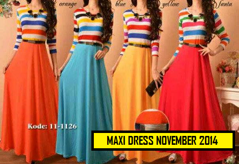 MAXI DRESS NOVEMBER 2014